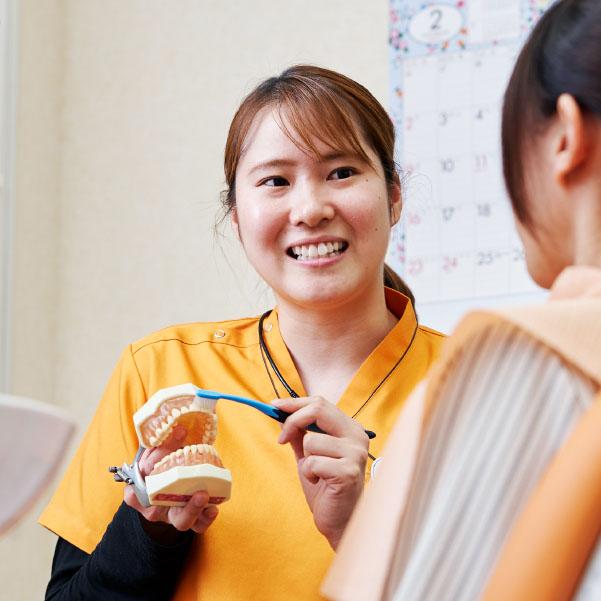 名古屋市歯科医師会附属歯科衛生士専門学校|case3
