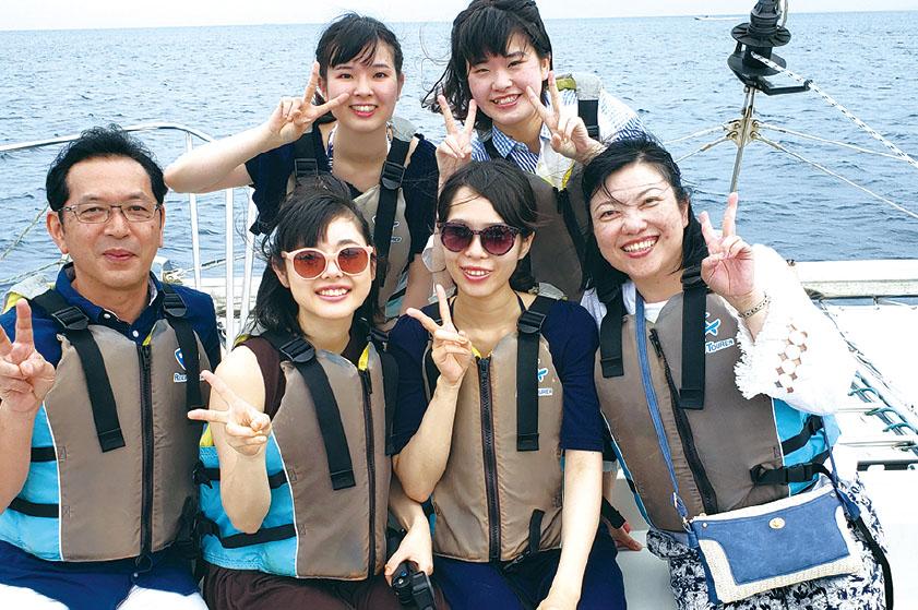 名古屋市歯科医師会附属歯科衛生士専門学校|修学旅行
