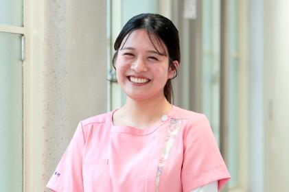 名古屋市歯科医師会附属歯科衛生士専門学校|在校生の声2