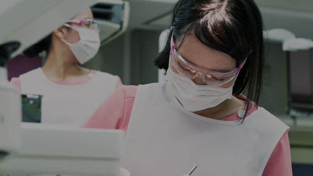 名古屋市歯科医師会附属歯科衛生士専門学校|歯科衛生士のお仕事